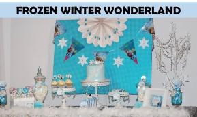 Frozen Winter Wonderland Party Icon