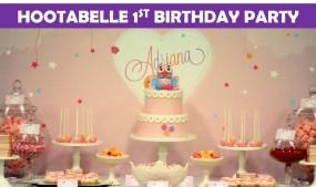 Hootabelle 1st Birthday party icon