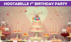 Hootabelle 1st Birthday party icon