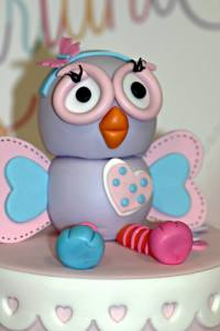 Hootabelle Owl Cake