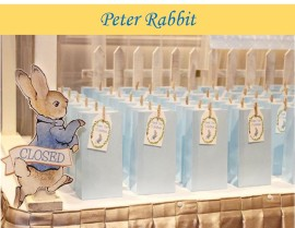 Peter Rabbit themed party Christening icon