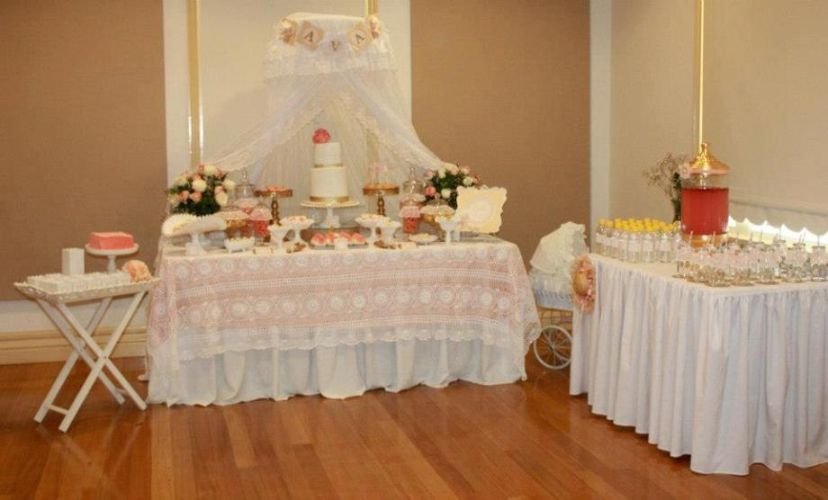 Baby Shower party set up