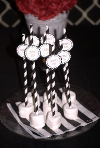 Black and white marshmallows 21st