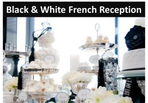 Black & White French reception icon