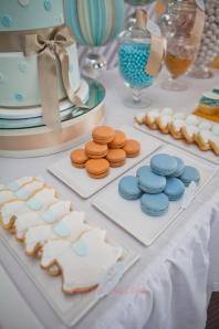 Blue & White Christening-cookies