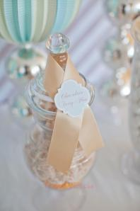Blue & White Christening-lollies