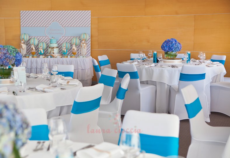Blue & White Christening-venue