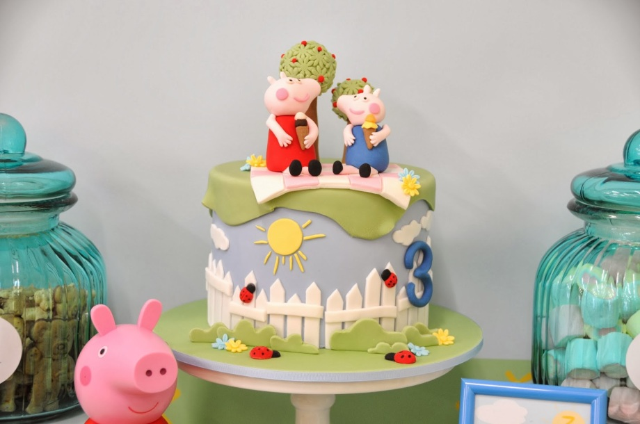 Peppa Pig Party-cake