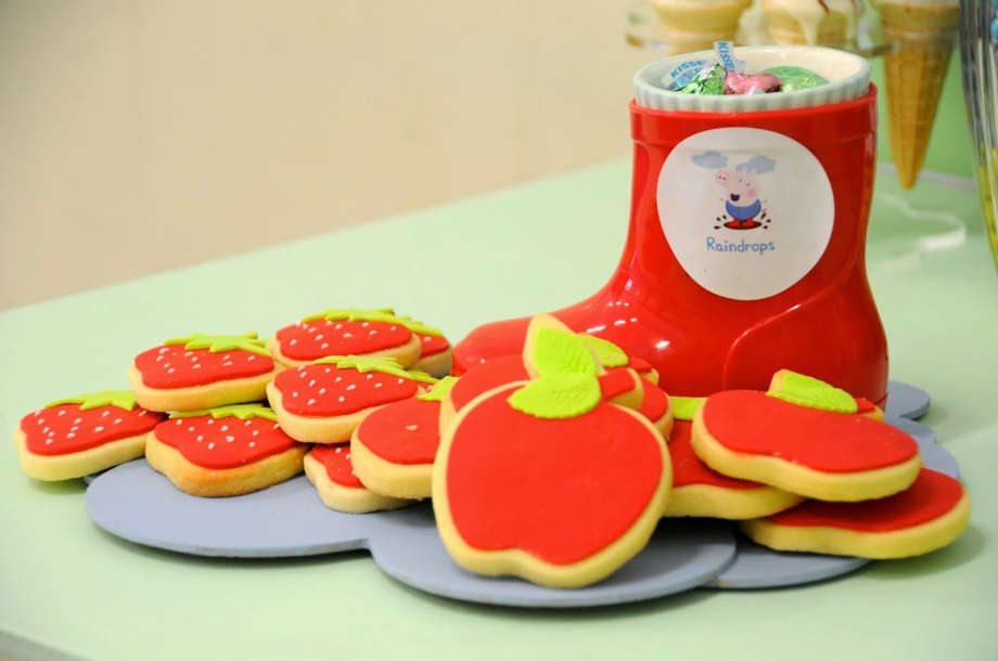 Peppa Pig Party-cookies
