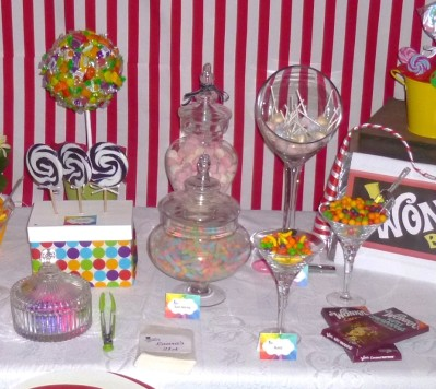 Willy Wonka Party Candy Table 6
