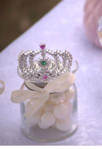 Princess crown on favours jars v2