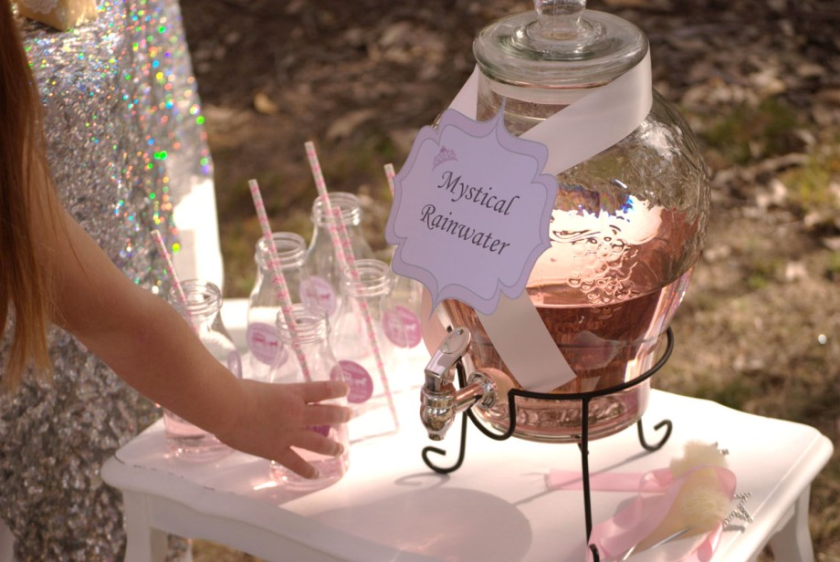 Princess Party Drinks station