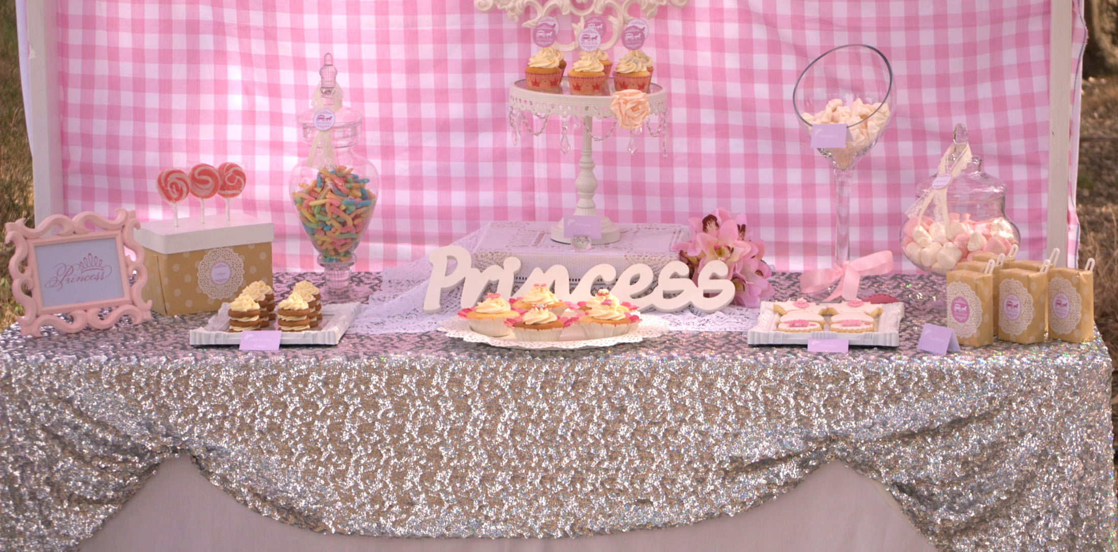Princess Party Tickled Pink Ideas