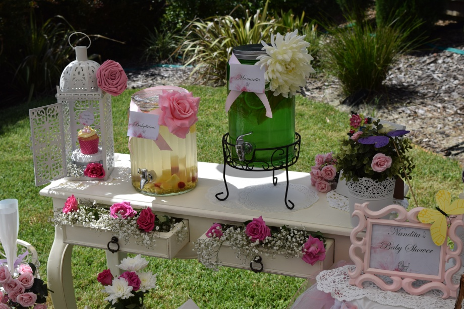 Enchanted Garden Baby Shower Tickled Pink Party Ideas