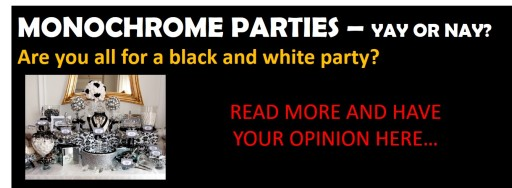 Monochrome Parties yay or nay home page ad