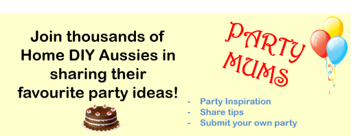Party Mums Home Page Ad