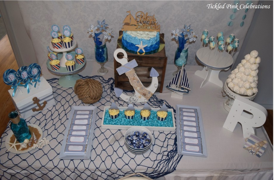 nautical-baptism-christening-party-table