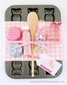 Easter Baking kit-A spoonful of sugar