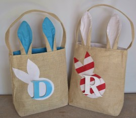 Hessian Easter Bags-Personalised-Boys