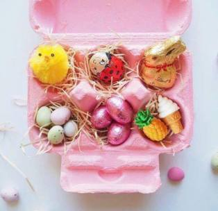 Kids Easter gift ideas egg carton