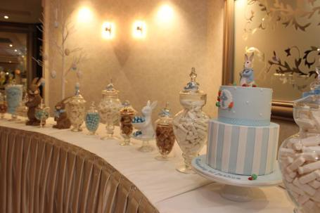 Peter Rabbit themed party Christening6