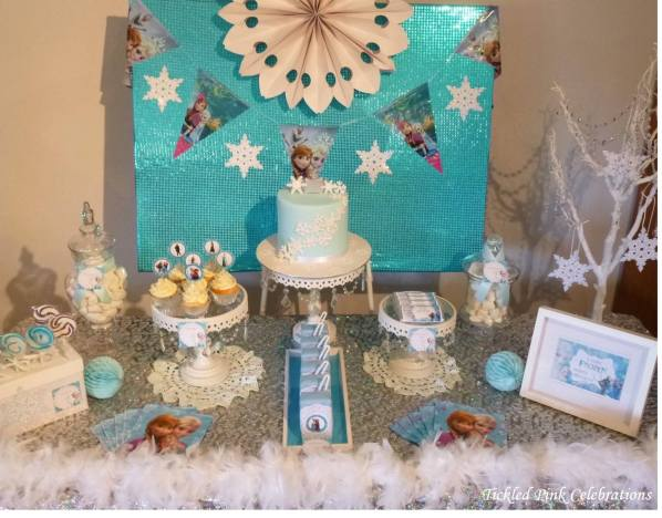 Frozen Party table4
