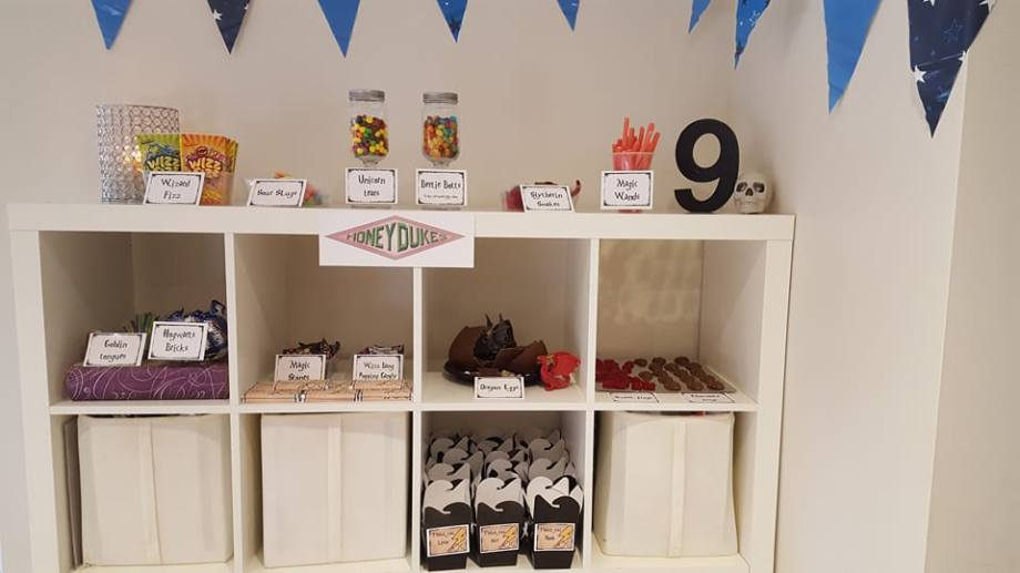 Harry Potter birthday party8
