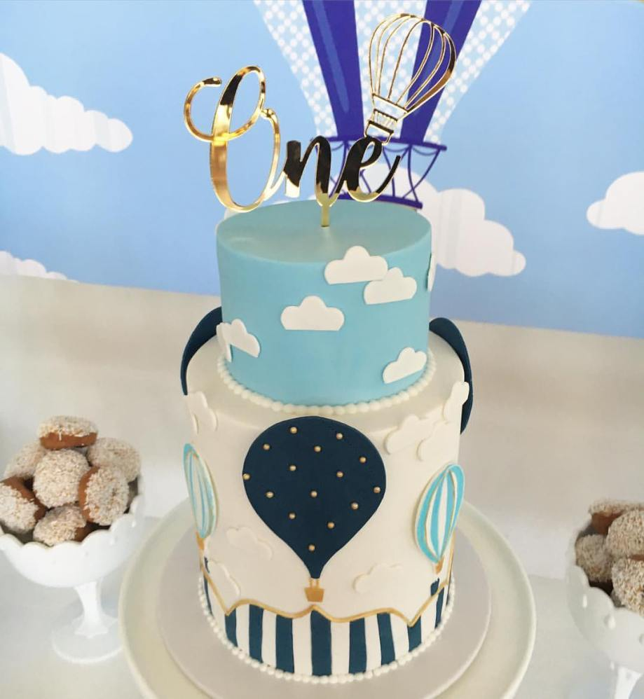 Hot Air Balloon Party cake