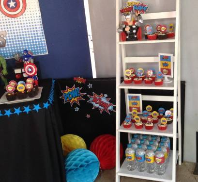 Avengers Superheros Party5