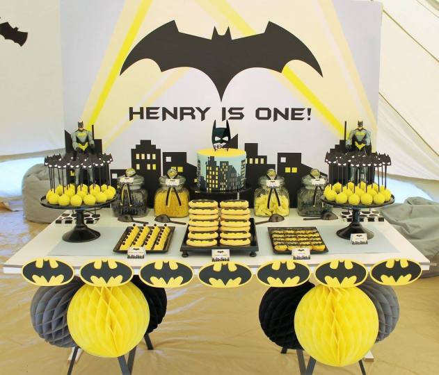 Batman Kids Party3-The Sweet Cart'