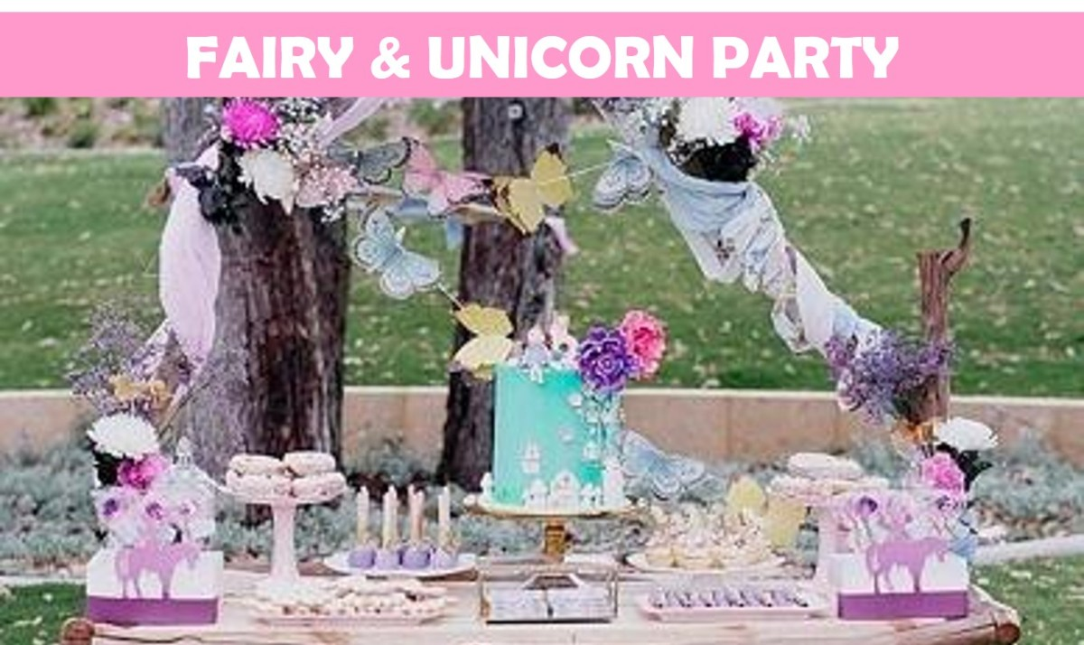 Whimsical Fairy & Unicorn Party