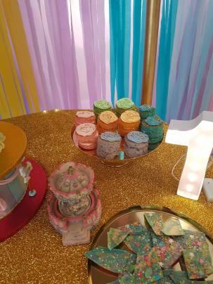 Rainbow Carousel Party