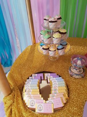 Rainbow Carousel Party10