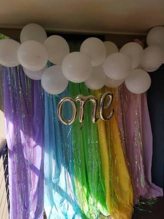 Rainbow Carousel Party14