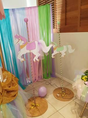 Rainbow Carousel Party7