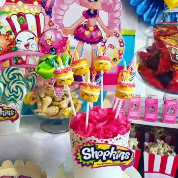 Shopkins Girls Party10
