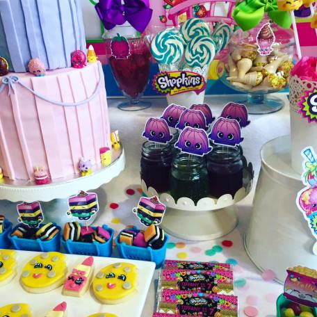 Shopkins Girls Party11