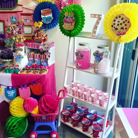 Shopkins Girls Party12