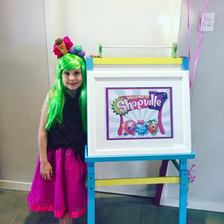 Shopkins Girls Party5