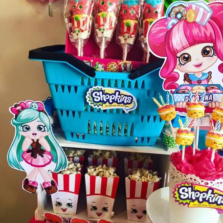 Shopkins Girls Party6