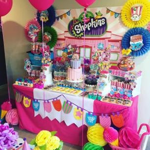 Shopkins Girls Party8