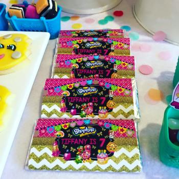 Shopkins Girls Party9