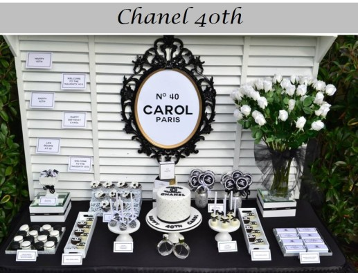 Chanel 40th - Events By Nina