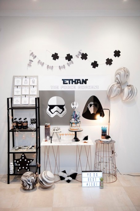 Star Wars Monochrome party - Dream a little dream events