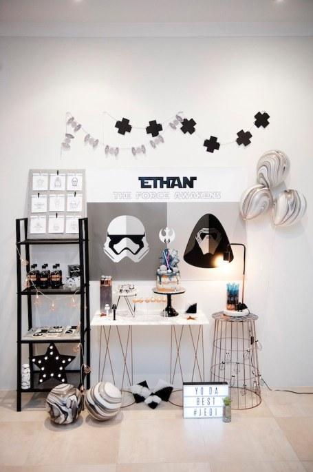 Star Wars Monochrome party - Dream a little dream events