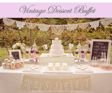 Vintage Dessert Buffet Icon