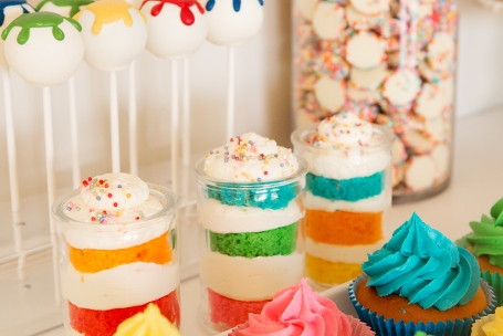Art Party desserts