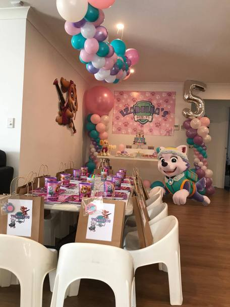 Girls Paw Patrol Party8