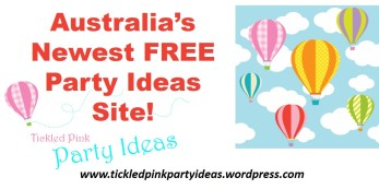 Australias newest party ideas site advert