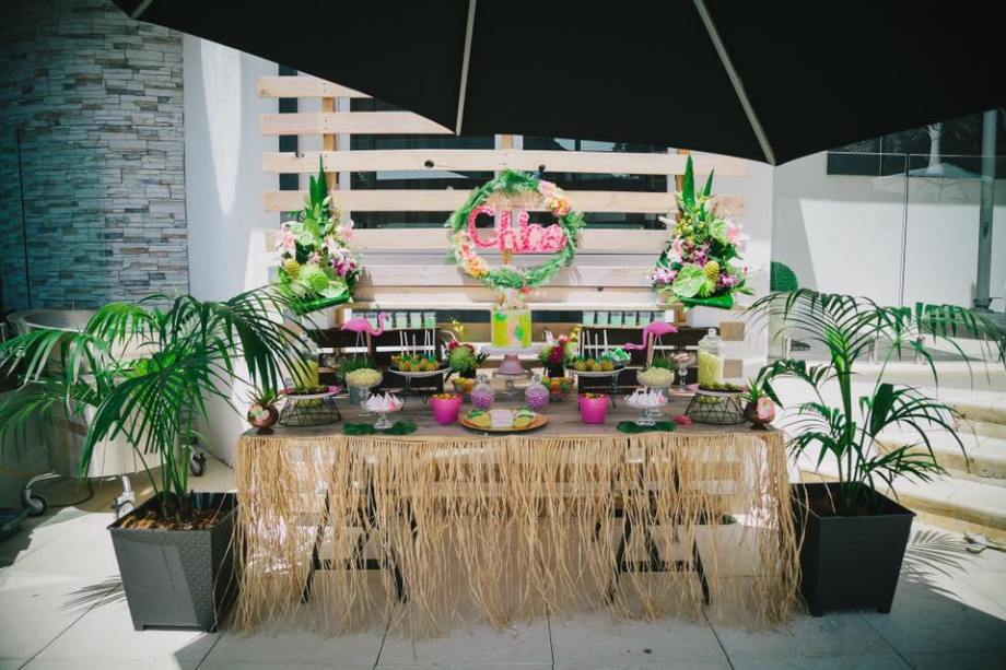 Tropical Hawaiian Party - Opulenticity Party & Buffet Styling Perth